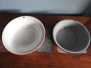 Patina metal bowls ($10 each or BOTH for only $15)