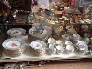 Royal Doulton Maritime Rose dishes etc Leon's Antiques