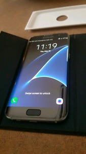Samsung S7 Edge in new condition with accessories