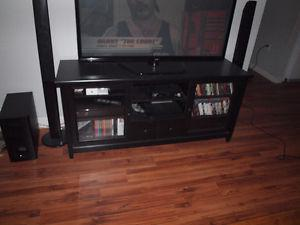 TV stand, multi media cabinet, moving sale