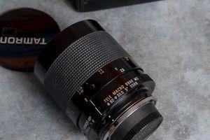 Tamron SP 500mm Manual Focus Mirror Lens w/ case & B/W