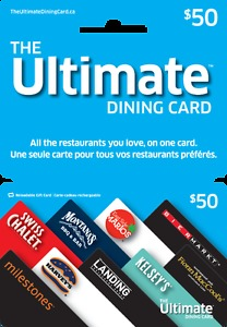 Ultimate Dining Gift Card