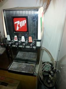Vintage 4-tap Dispenser