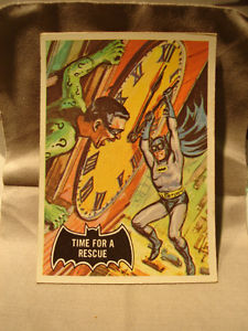 Vintage  Collectible Batman Cards Set of 4 No's