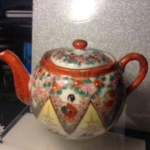 Vintage Teapot Ceramic Made In Japan