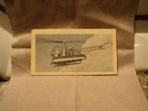 Vintage 's Bell HTL 6 Helicopter Morse's Tea and Coffee