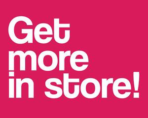 Wanted: Get more store credit on rainy days!
