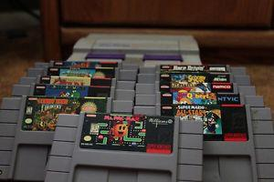 Wanted: Looking to buy Nintendo and Super Nintendo games