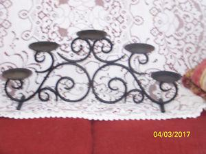 Wanted: rod iron candelabra for pilllar candels