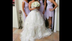 Wedding Dress by Demetrios - $ OBO