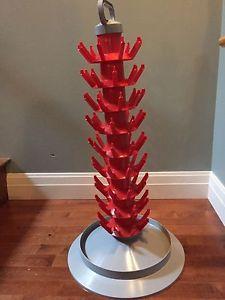 Wine makers dream - wine bottle drying rack - NEW!!