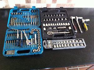socket set / impact driver accessory kit / ratchet wrench