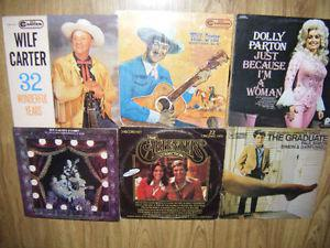 6 old Time music records for sale..