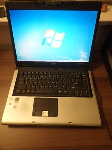 Acer Aspire  Laptop (hard drive removed)