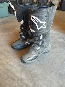 Alpine stars dirt bike boots