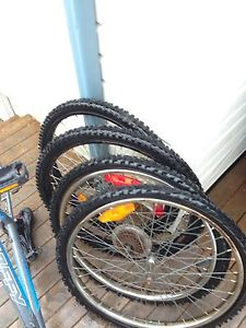 Bike tires and Body for parts