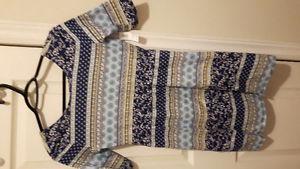 Girls cotton dress (new) size 12