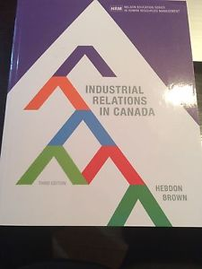 Industrial relation and Canada brandnew