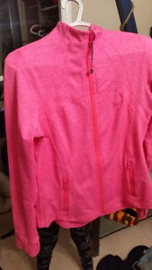 Like New Pink Lululemon Sweater Jacket Like New as was only