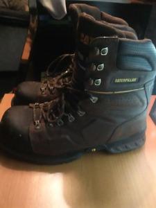 Men's Caterpillar Steel Toe Work Boots