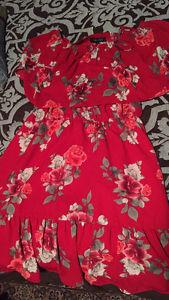 New and slightly worn dresses