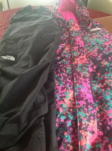 North Face snow suit