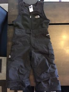 North face ski pants and boots 2T