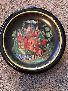 Russian collector plate for sale