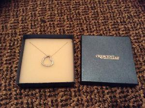 Sterling Silver Heart Pendant Necklace ***BRAND NEW***
