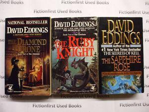 """The Elenium Trilogy"" by: David Eddings"