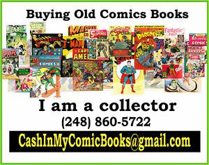 Wanted: $ CASH $ 4r OLD Comic Books