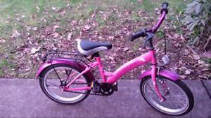 5-7 yr old girls bike like new