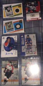 7 Autographed & Jersey Hockey Cards - 2 Joe Thornton Auto