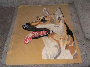 ART on VELVET---'s German Shepherd