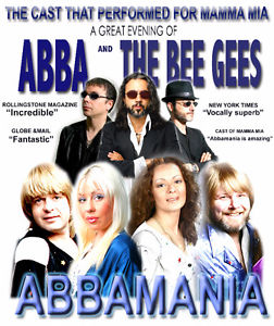 Abbamania & Night Fever -below cost Sat 8th
