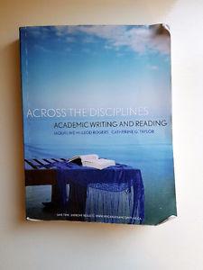 Across the Disciplines (Academic Writing Textbook)