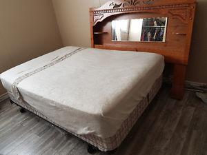 Bed, Mattress and Head board for sale
