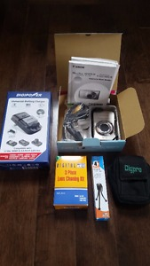 CANON POWERSHOT SD970 DIGITAL CAMERA & ACCESSORIES