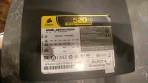 Corsair HX520W power supply