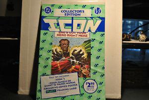 DC ICON #1 Factory Bagged Comic Book