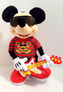 Fisher proce SINGING DANCING ROCK STAR MICKEY MOUSE