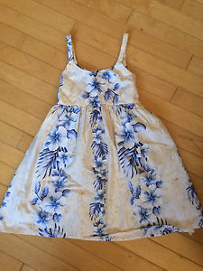 Floral print sun top girls size 8