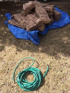 Free insulation (hose in picture is gone)
