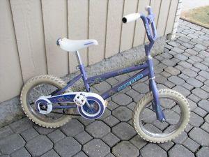 """GIrls Bike """"SUPERCYCLE"""" - 14 Inch wheels"""
