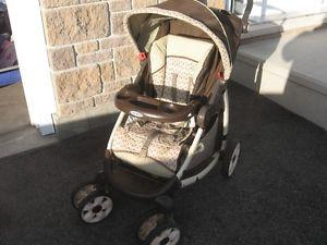 Graco stroller, picnic table, table with 5 stool, toy