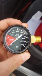 High Pressure Regulator Gauge
