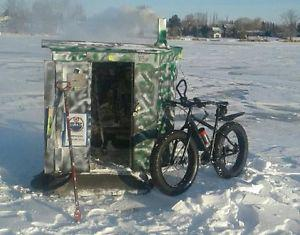 Ice Fishing Shack $150