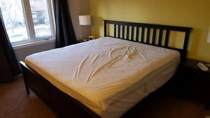 Ikea Hemnes King Bed Frame - Must Go This Weekend