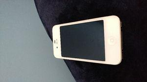 Iphone 4S, has crack on the back.