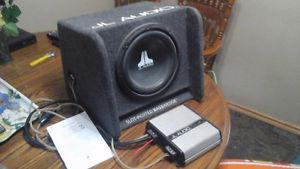 JL amp and sub